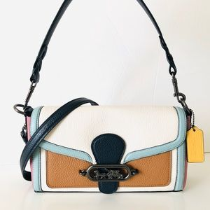 Coach Jade Shoulder Bag Colorblock Crossbody Purse
